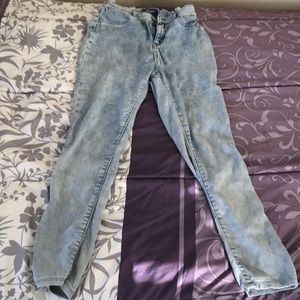 Old Navy Girls Ballerina Jeans Acid Wash